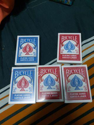 Official Bicycle Playing Cards (Blue/Red)