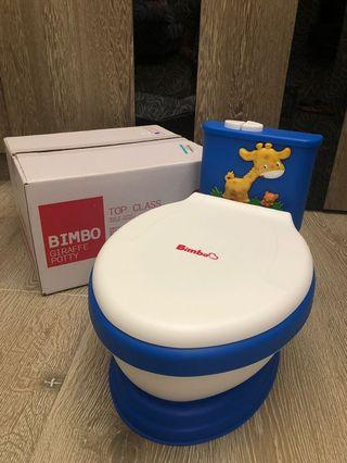 [二手]Bimbo 專利兒童音樂馬桶 台灣製造