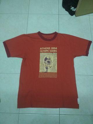 Vintage vtg ringer t-shirt olympic 2014