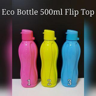 Tupperware Eco Bottle 500ml Flip Top candy pop