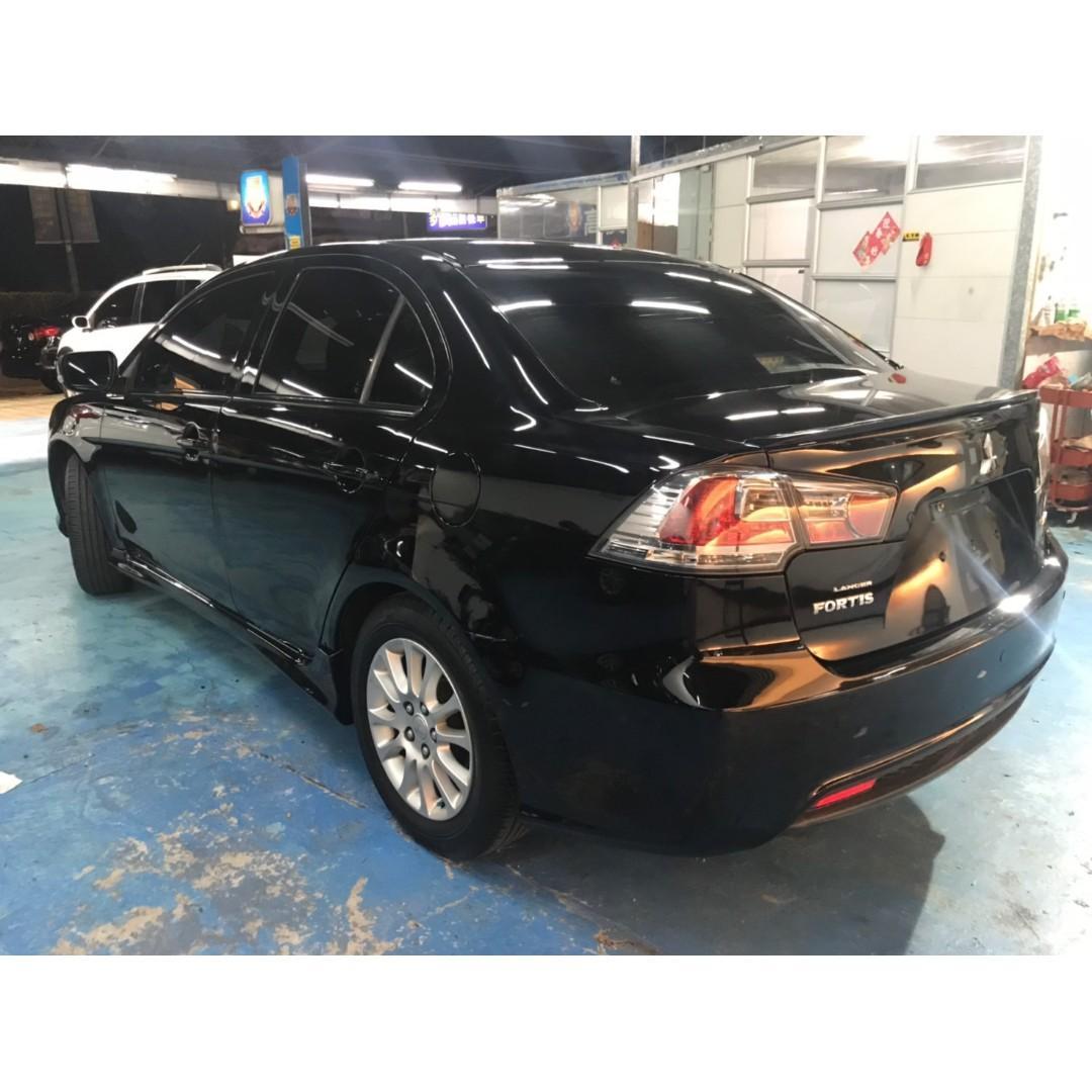 正2010年Mitsubishi Lancer Fortis 1.8頂級版 只賣18.8萬