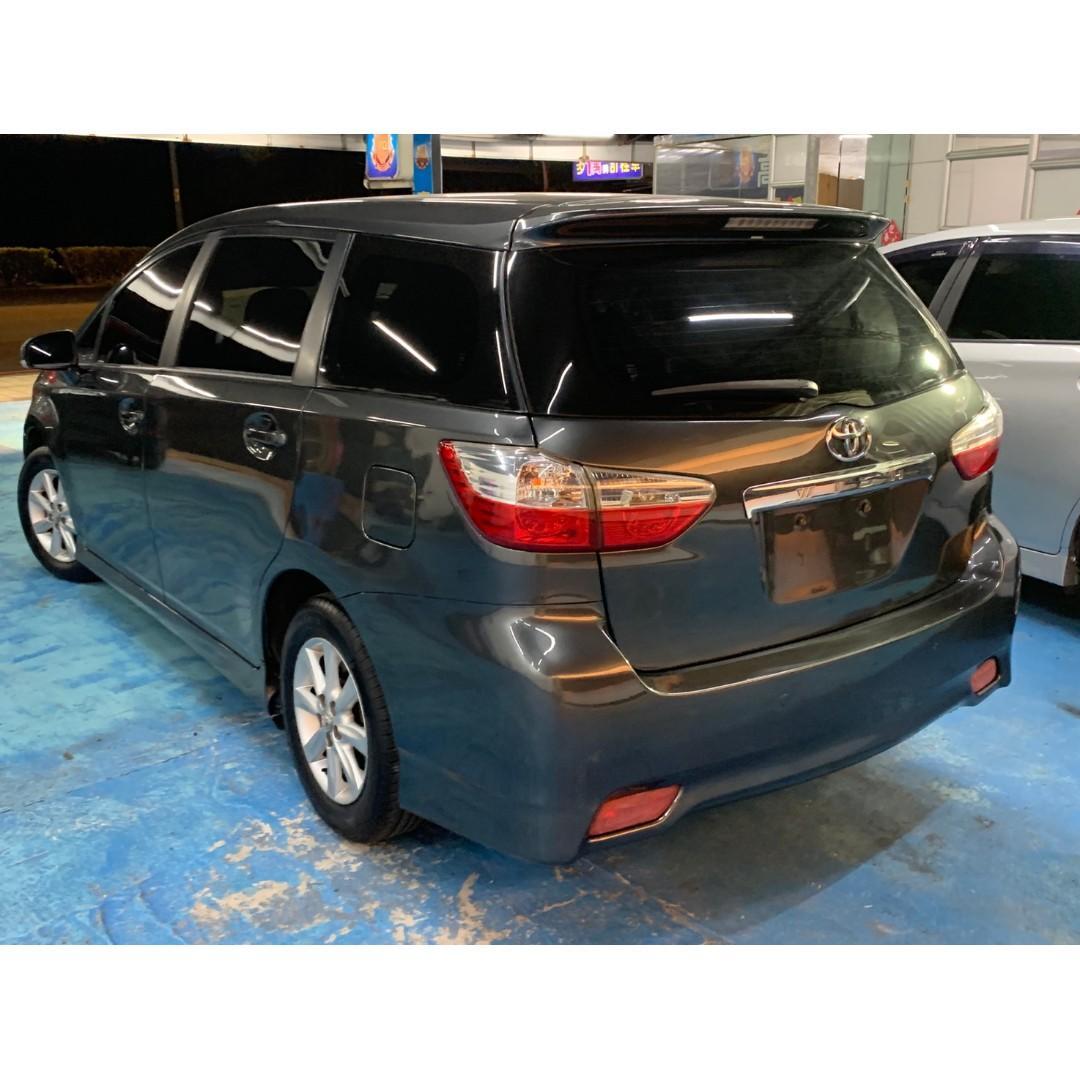 2011年 最新款二代Toyota Wish 2.0E  真心不騙只賣25.8萬