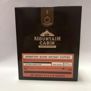 全新*美樂家 MOUNTAIN CABIN 招牌即溶黑咖啡(深烘焙)阿拉比卡咖啡豆 有效期限到: 2020年9月5日