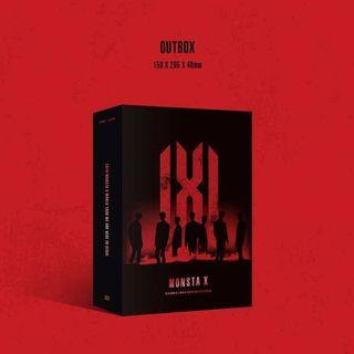 MONSTA X WE ARE HERE 2019 WORLD TOUR DVD