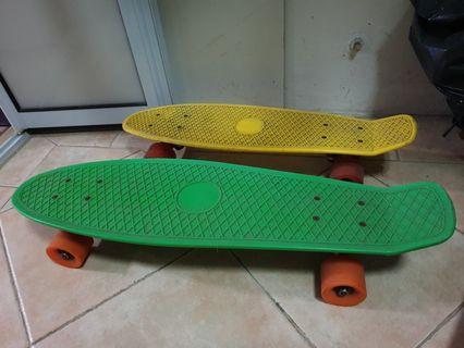 Penny board x 2 (27inch & 22inch)