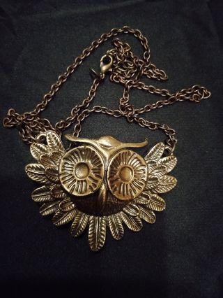 貓頭鷹項鏈