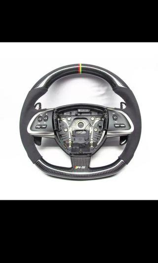 Jaguar Carbon Fiber Steering Wheel