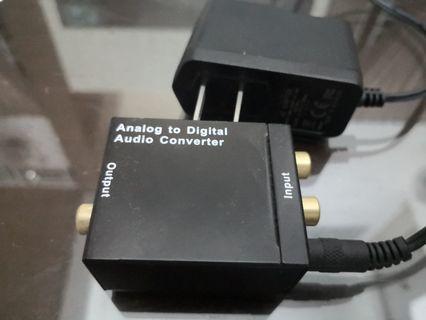 Analog to Digital Auduo Converter