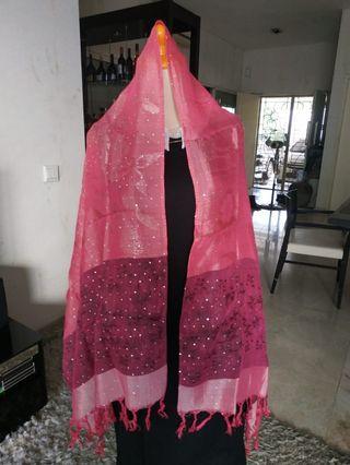 Syal Pink