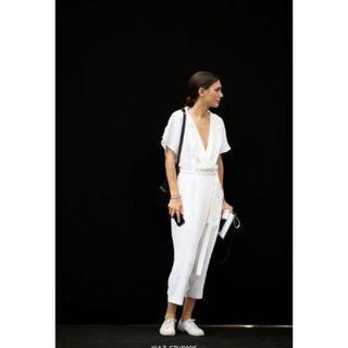 [夏日出清] 歐美風 連身裝 白 上衣 #五折清衣櫃