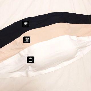 涼感抹胸平口小可愛-黑白兩色