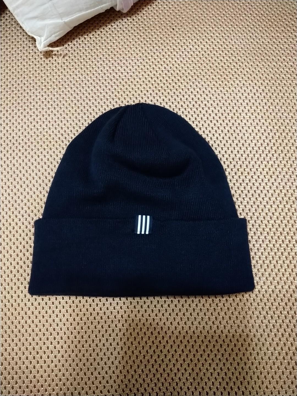 愛迪達 針織帽