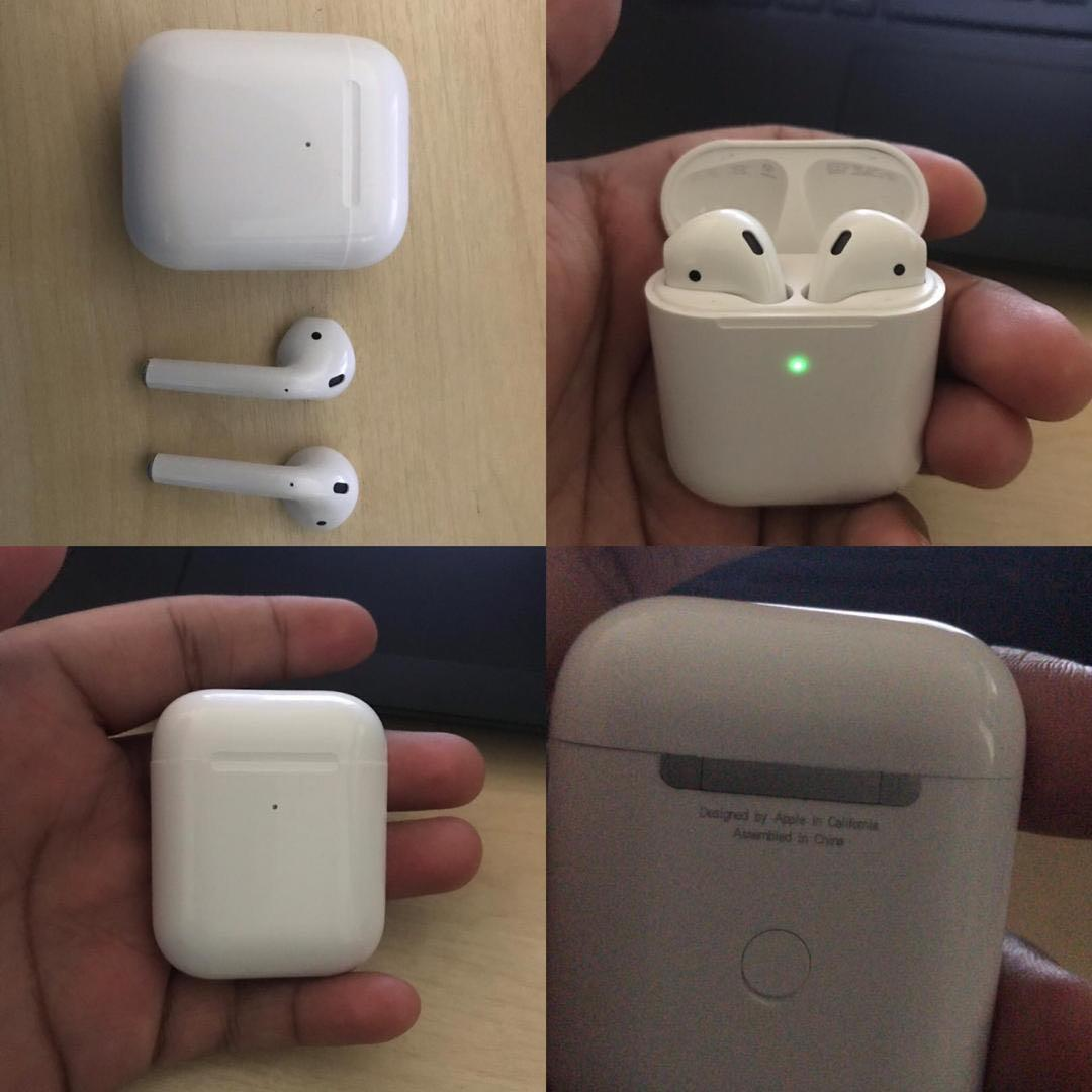 Airpods 2nd Gen With Wireless Charging Case Mobile Phones