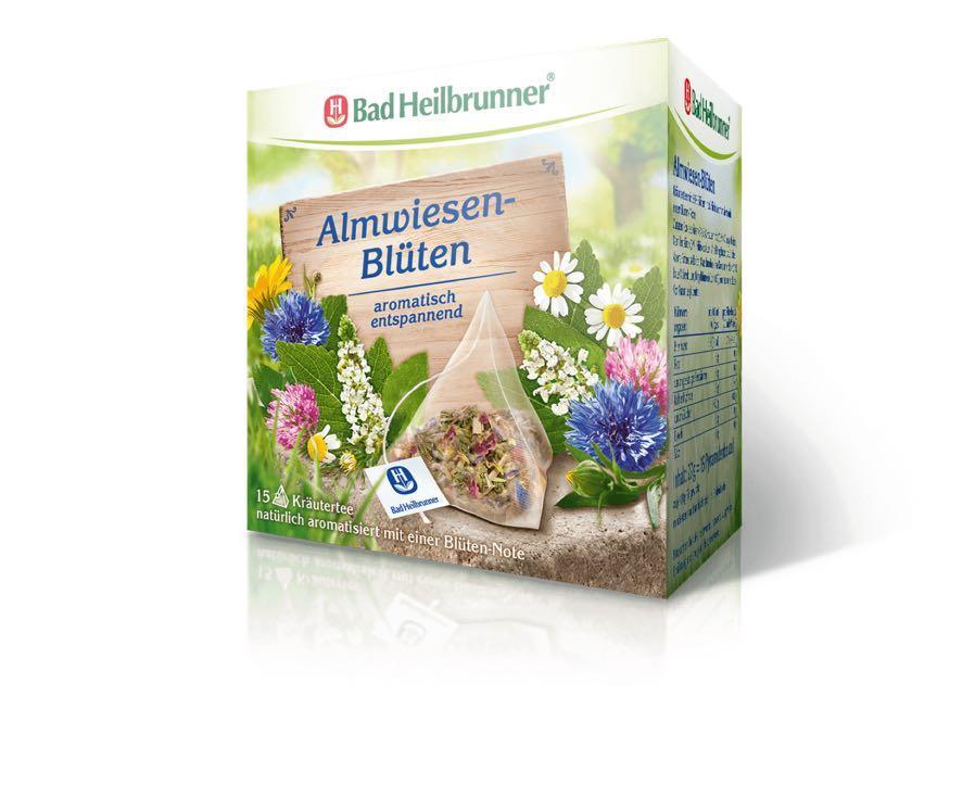 德國🇩🇪Bad Heilbrunner 花茶茶包(15個)