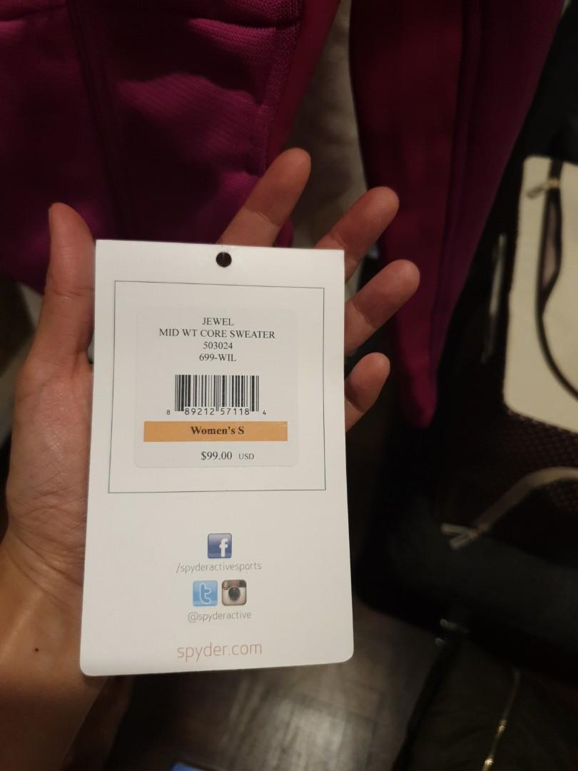 BN Spyder Women Jewel (Microfleece) Jacket