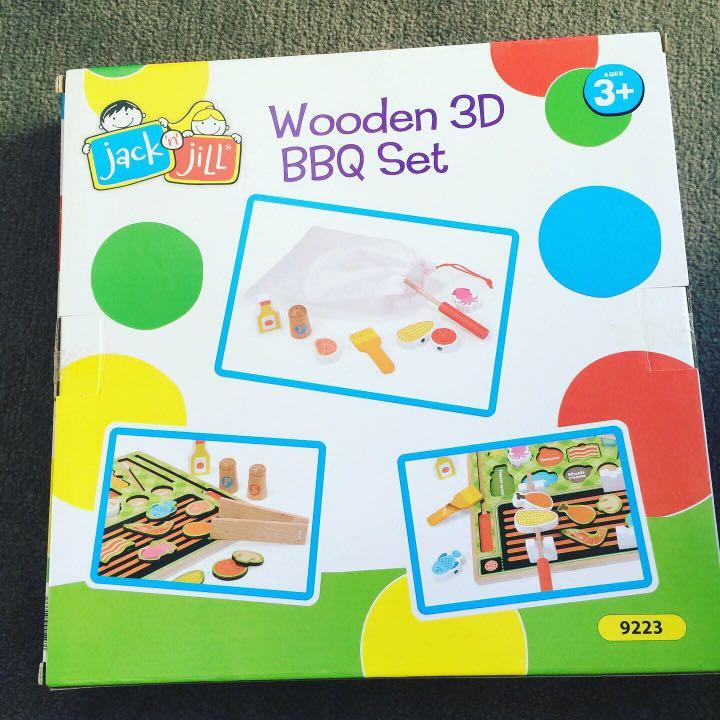 Bnib jack and hill wooden kitchen toys from sydney
