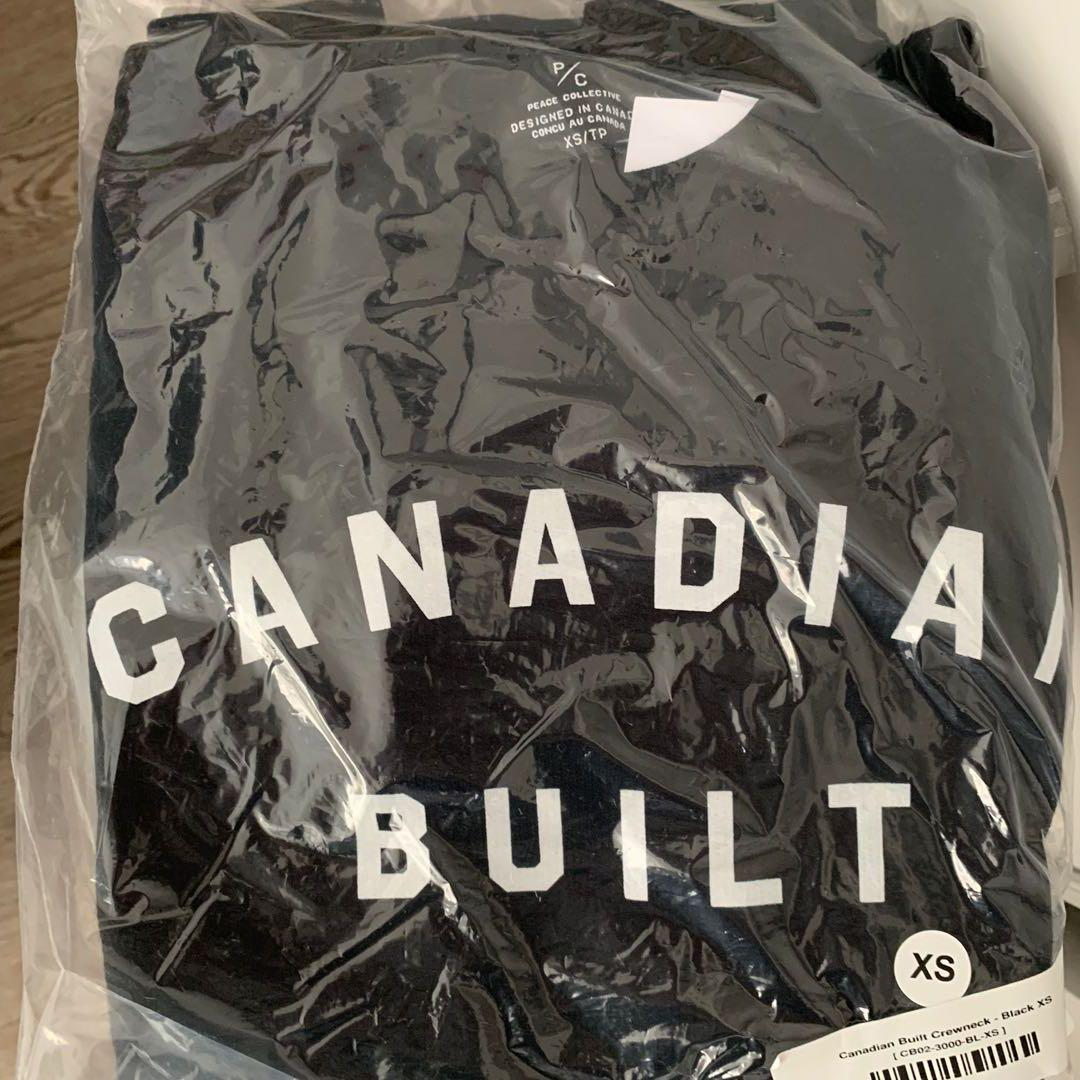 *Brand new* XS Peace collective 'Canadian built' crewneck sweater