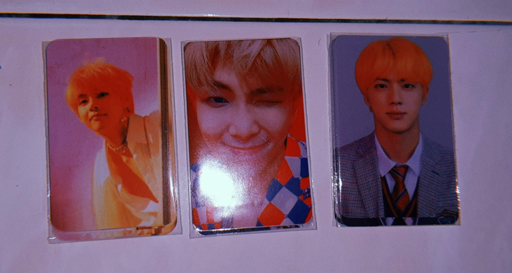 BTS LY ANSWER PHOTOCARDS
