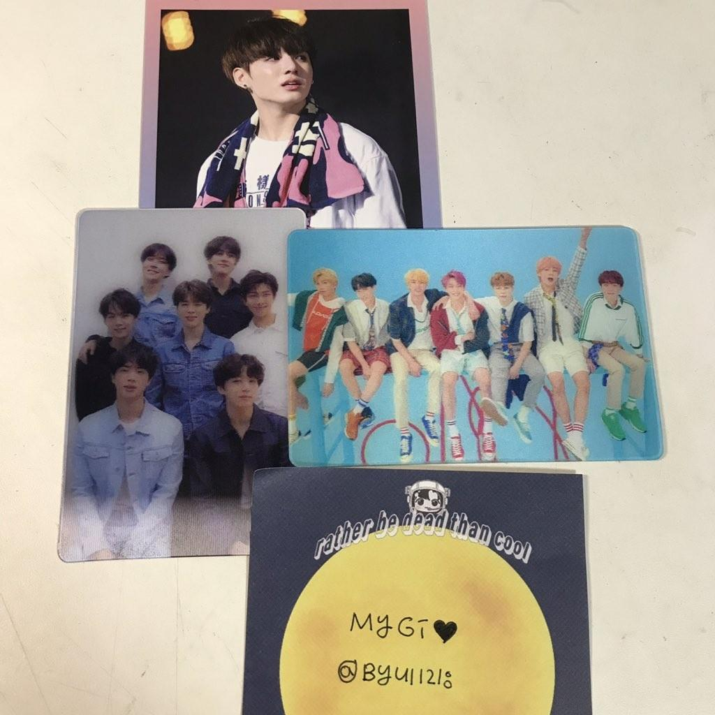 BTS PHOTOCARDS ( Jungkook Hyyh & Special Card) Official