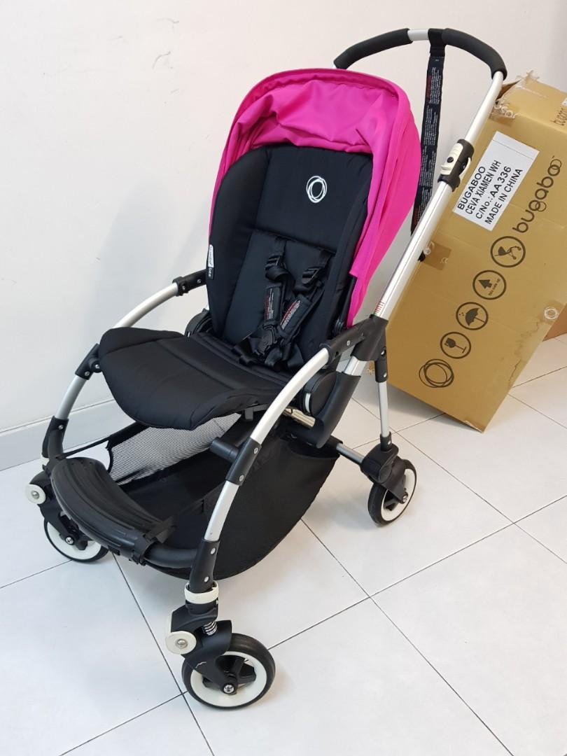Bugaboo Bee+ (Plus) Premium Stroller in BlackPink