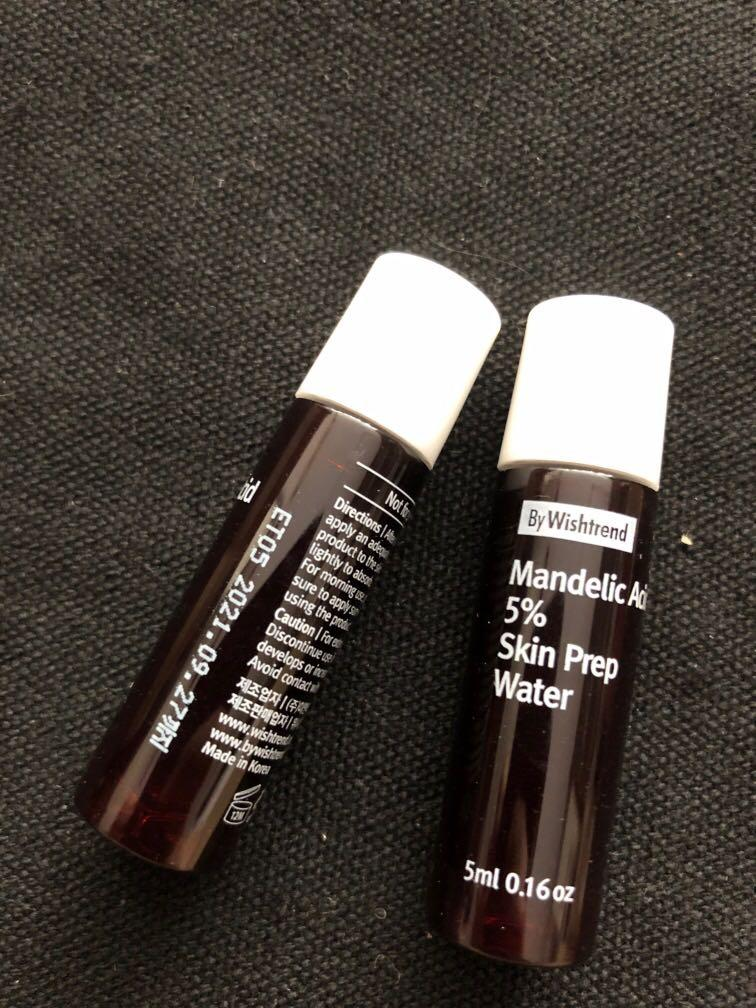 By Wishtrend mandelic Acid 5% skin prep water #MRTSerangoon