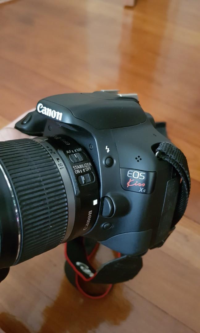 Canon Rebel Kiss X4 550D