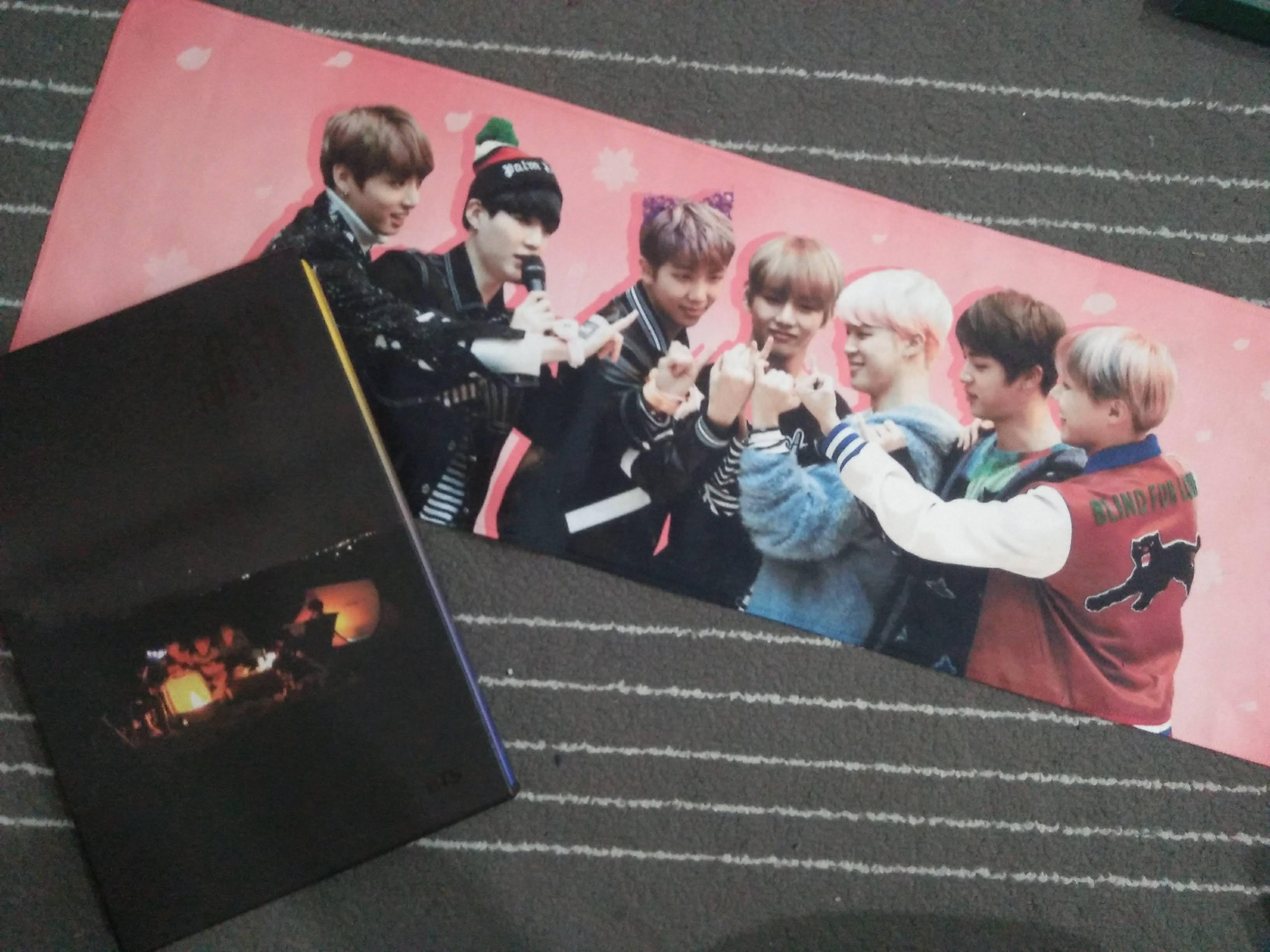 [COMBO SALE] BTS YOUNG FOREVER NIGHT VER + SLOGAN BY LUNATICWORLD