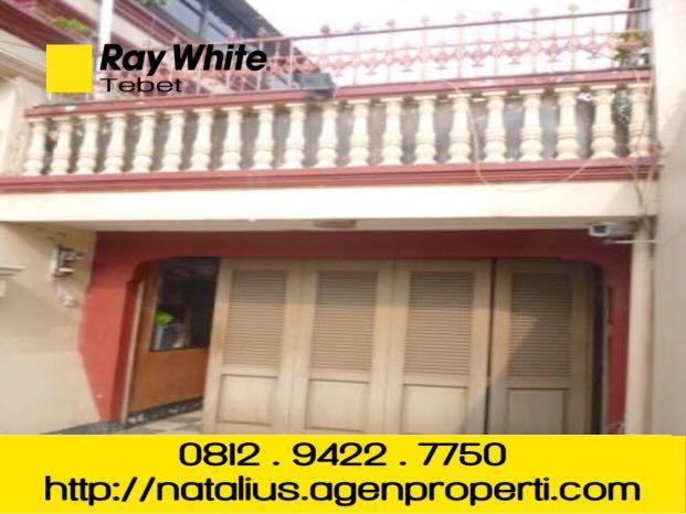 Dijual Cepat Rumah Tebet Lokasi Bagus Area Komersial Jalan Raya