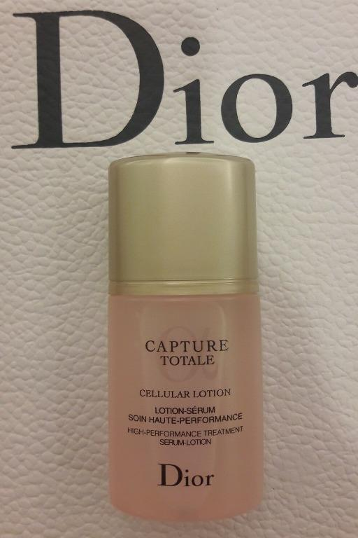 DIOR Capture Totale Cellular Lotion. 30ml x 3= 90ml. New