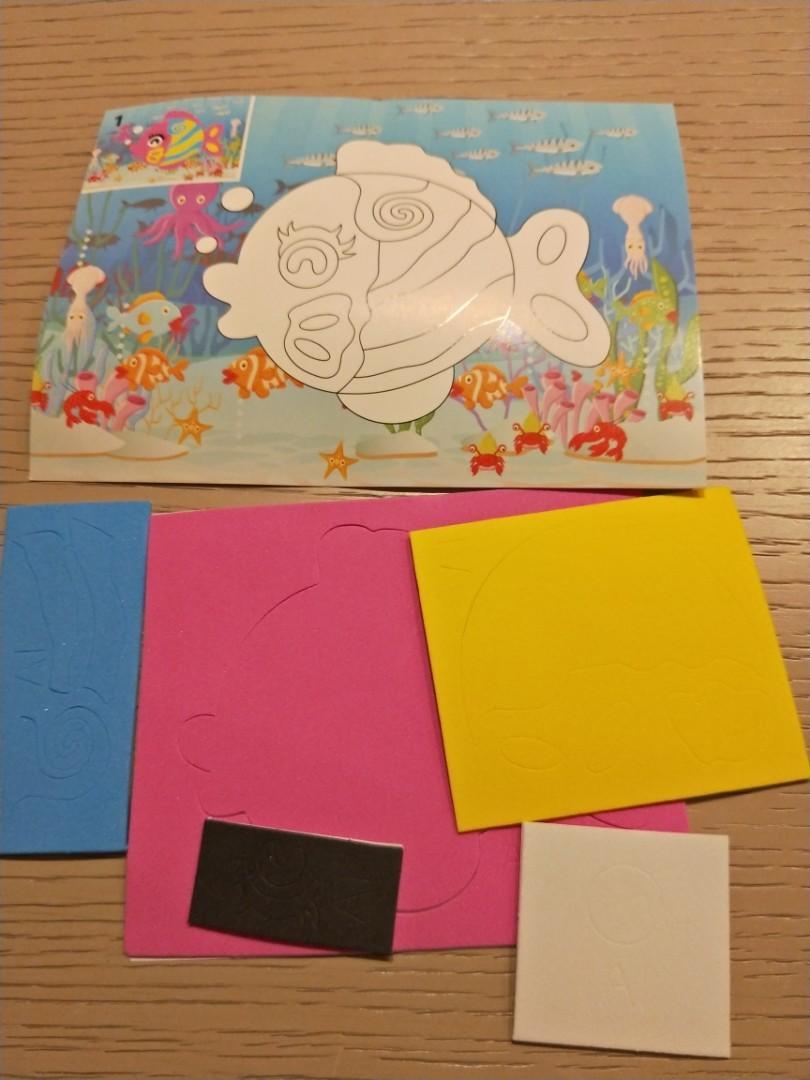 DIY EVA 3D ART Foam , kid birthday party goodies item,  children day
