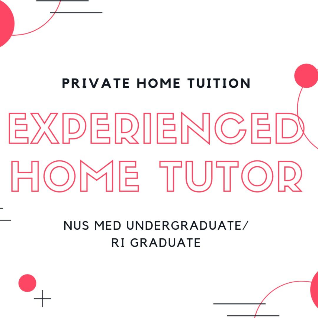 Home Tuition by Med U/G