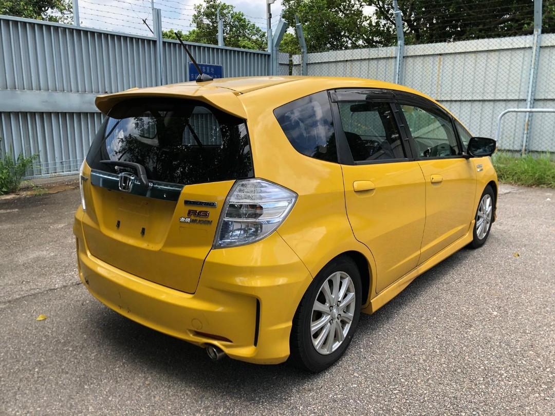 HONDA FIT Hybrid RS 2012