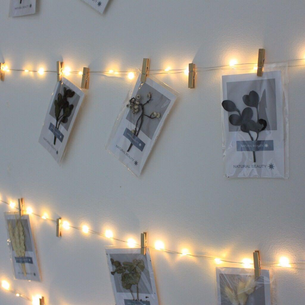 Instock - Fairy lights with remote control 3m/5m/10m