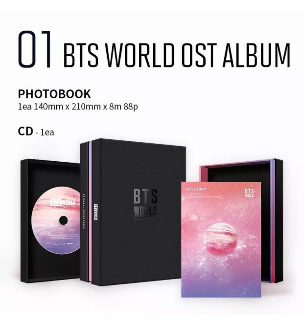 IN-STOCK!! ✨BTS WORLD OST LIMITED EDITION FULL PACKAGE SEALED ORIGINALLY +POSTER IN TUBE CASE -Free Shipping!!