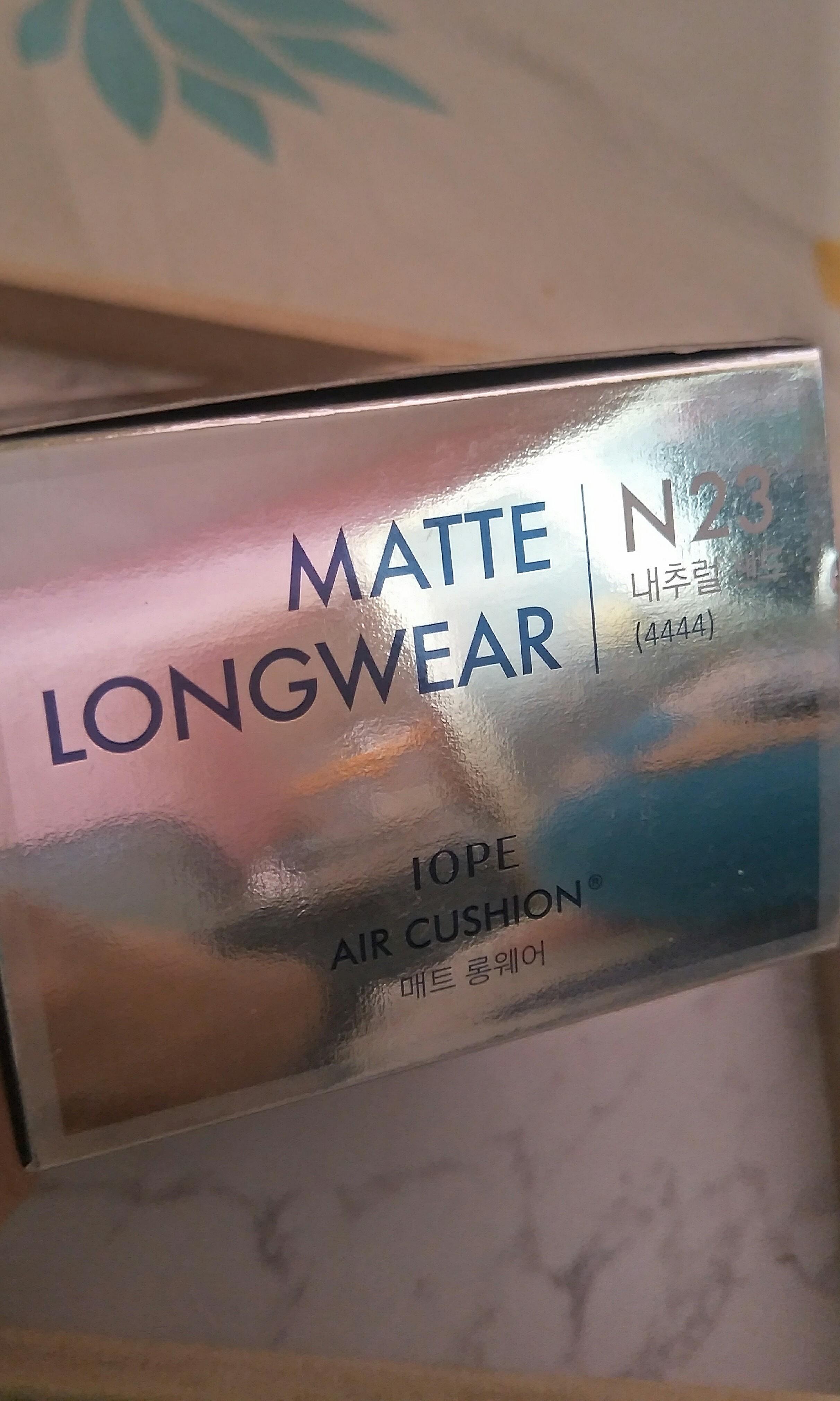 IOPE Matte Longwear Cushion : N23