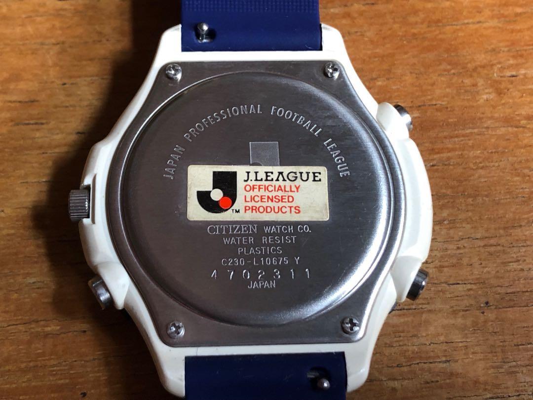 J League 磐田喜悅 citizen 時計