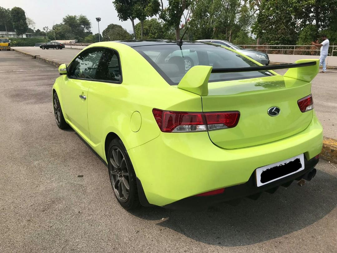 Kia Forte Coupe 1.6A