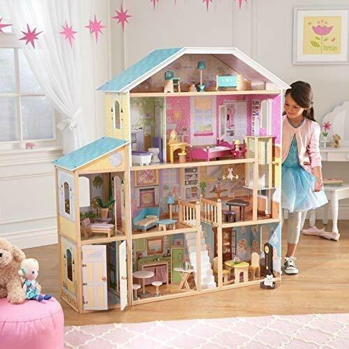 KidKraft 65252 Majestic Mansion Dollhouse,Used in good condition