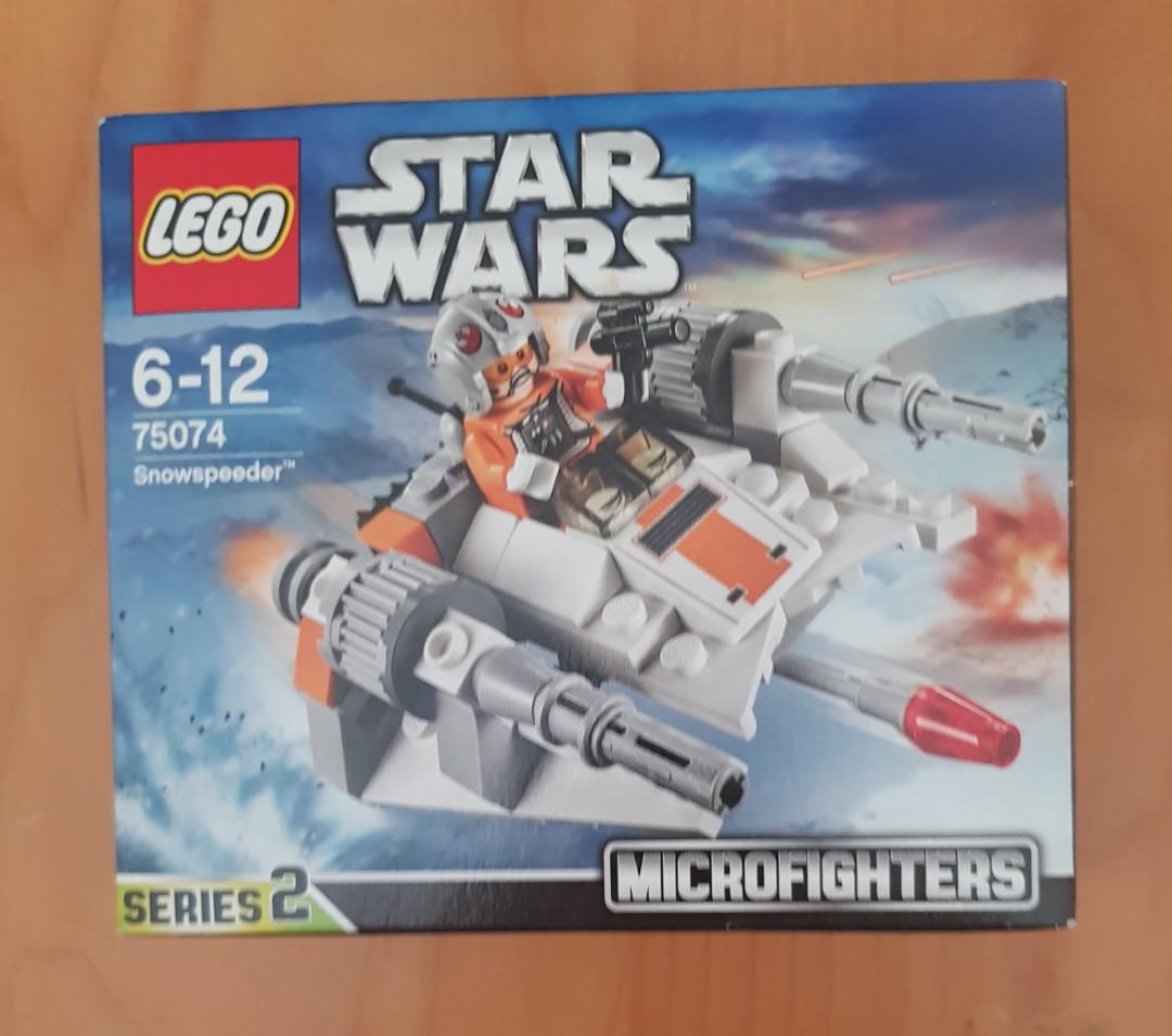 INSTRUCTION BOOK ONLY Lego Star Wars 75074 Snowspeeder No Lego Bricks