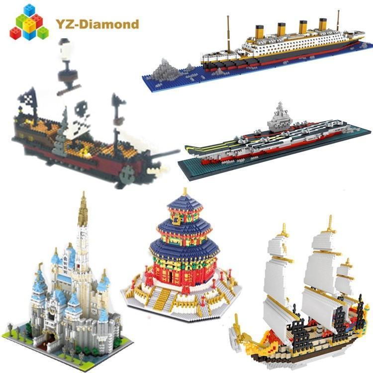 Lego Bangunan Premium