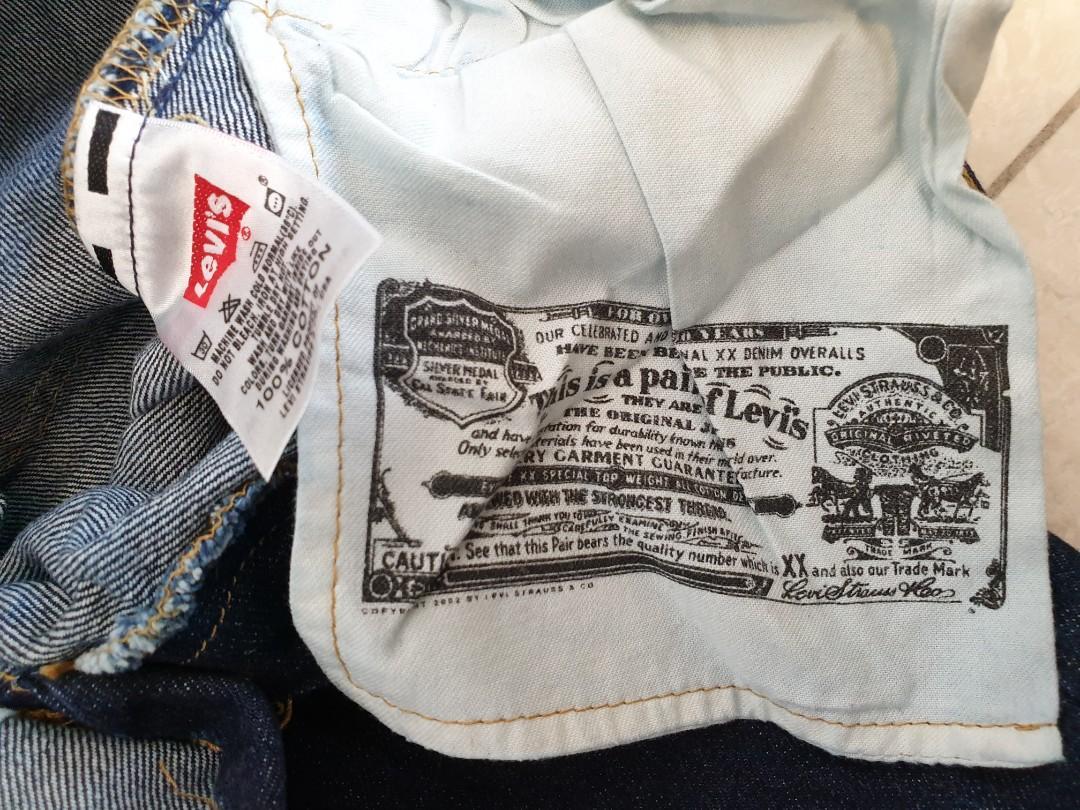 Levis 501 Mens Jeans rare size 27