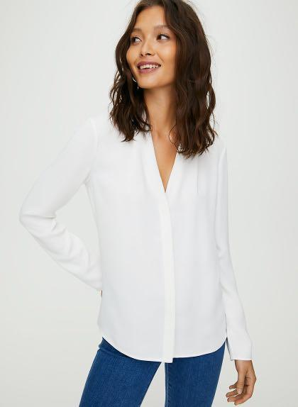 Looking for: Babaton Power Blouse - XS