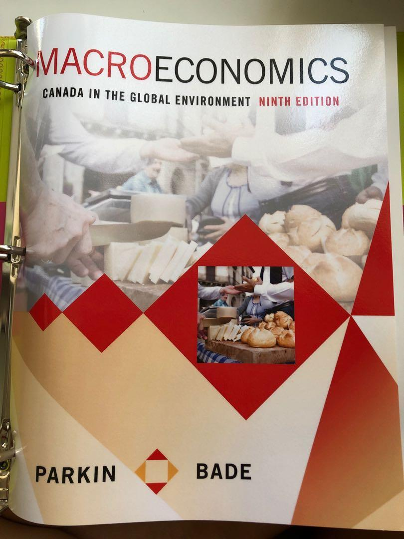 Macroeconomics: Canada in the Global Environment Ninth Edition