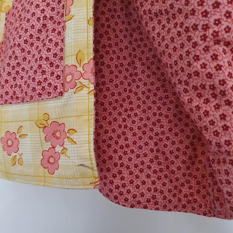 Made to fit size 3 As new Beautiful handmade floral coat jacket