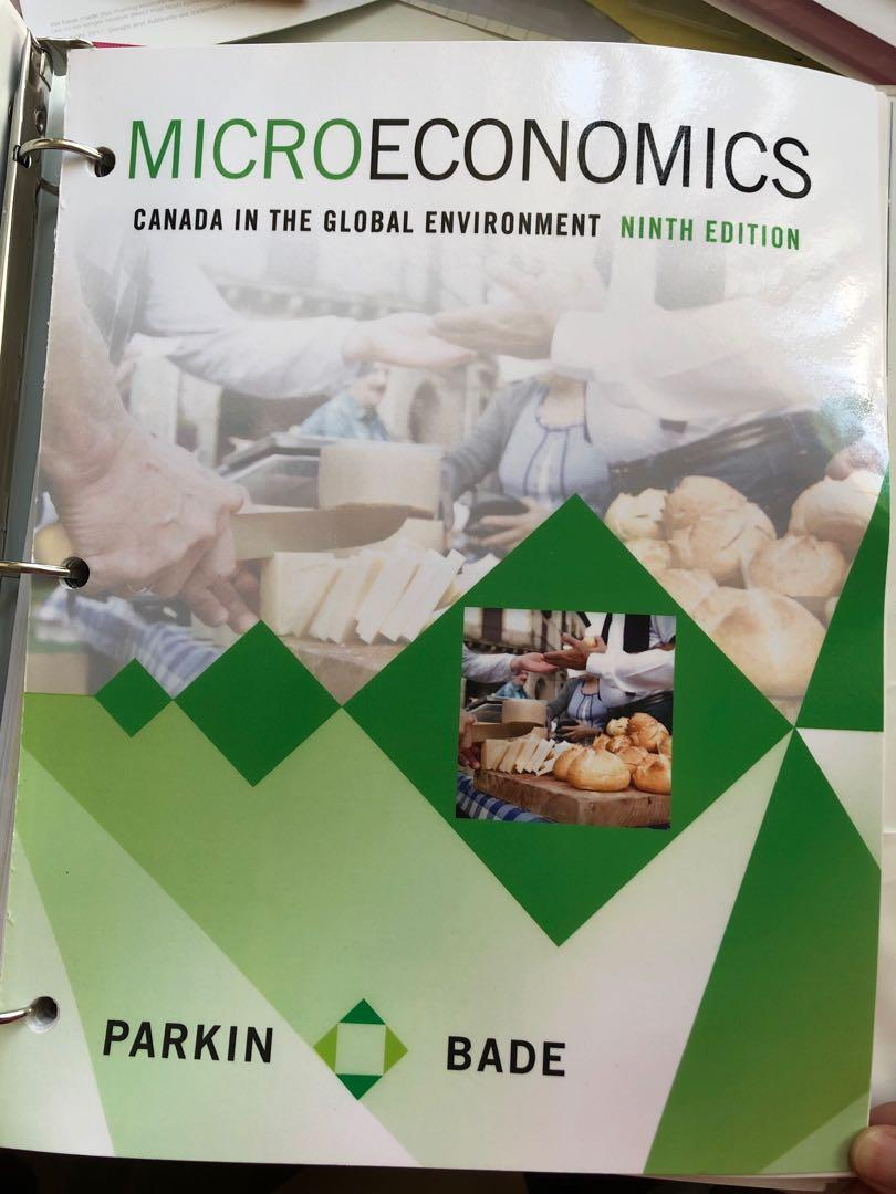 Microeconomics: Canada in the Global Environment Ninth Edition
