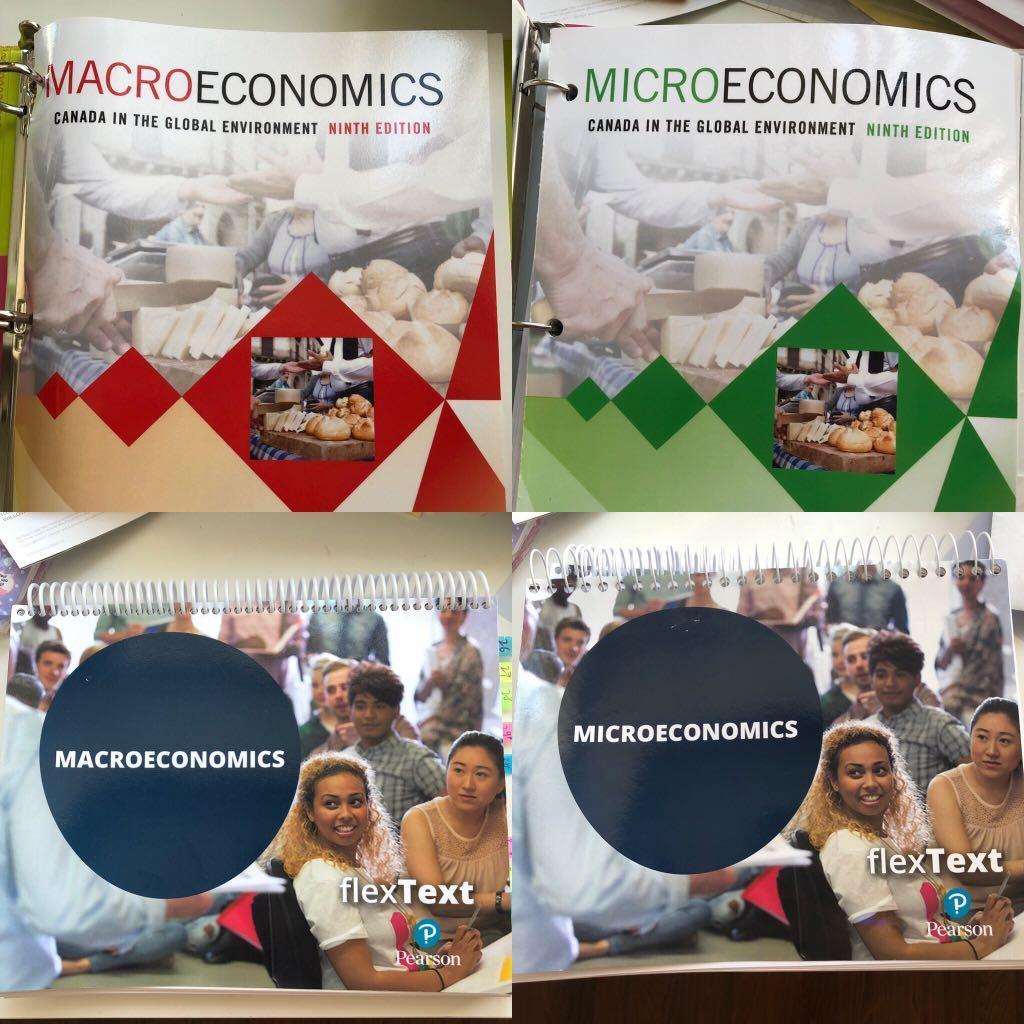Microeconomics Macroeconomics Pearson Bundle