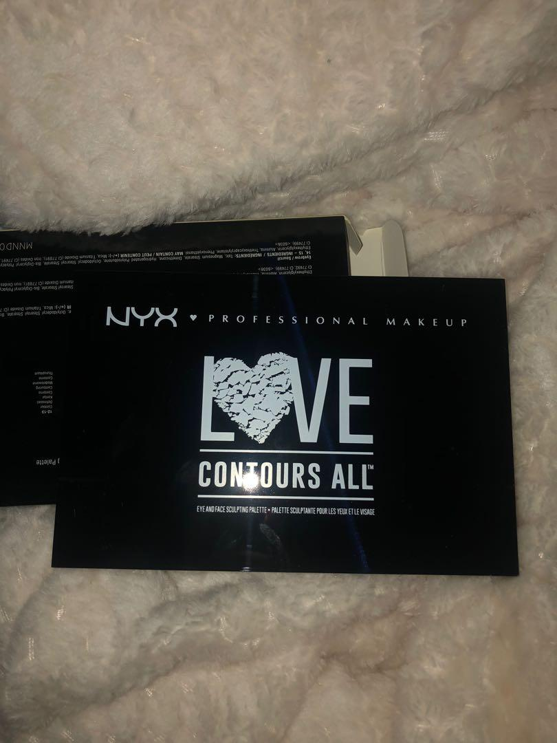 NYX love contours all kit
