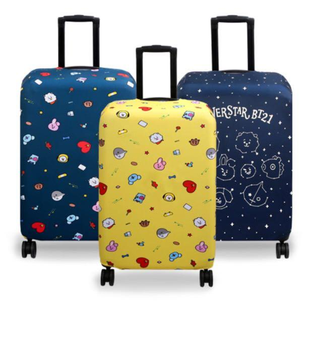 [OFFICIAL] BT21 LUGGAGE CARRIER COVER 24inch & 28 inch