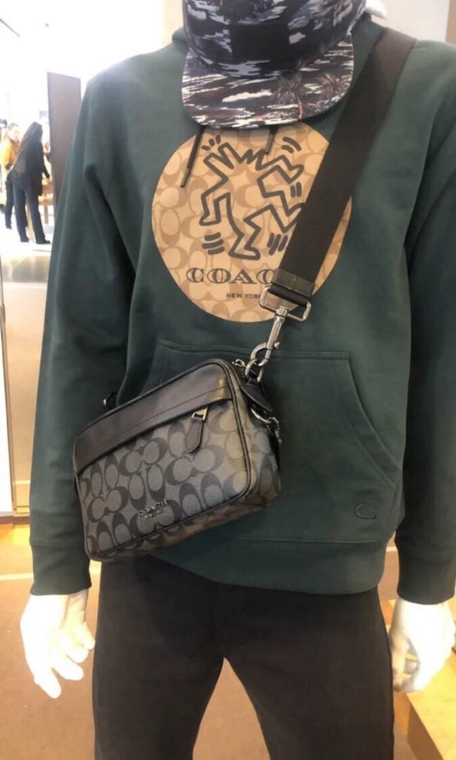 (PO) Coach Men's Sling/Crossbody Bag