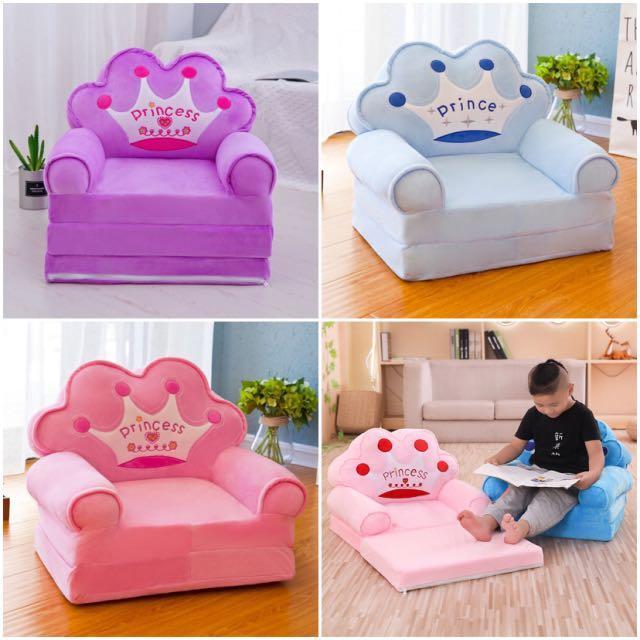Prince Princess Cartoon Sofa Bed For